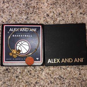 Alex and Ani basketball bracelet